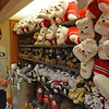 Two-time Masters champion Bubba Watson looks for a stuffed animal for his son, Caleb, at the UGA Bookstore during his visit to Athens, Ga., on Monday, April 21, 2014. (Photo by Steven Colquitt)