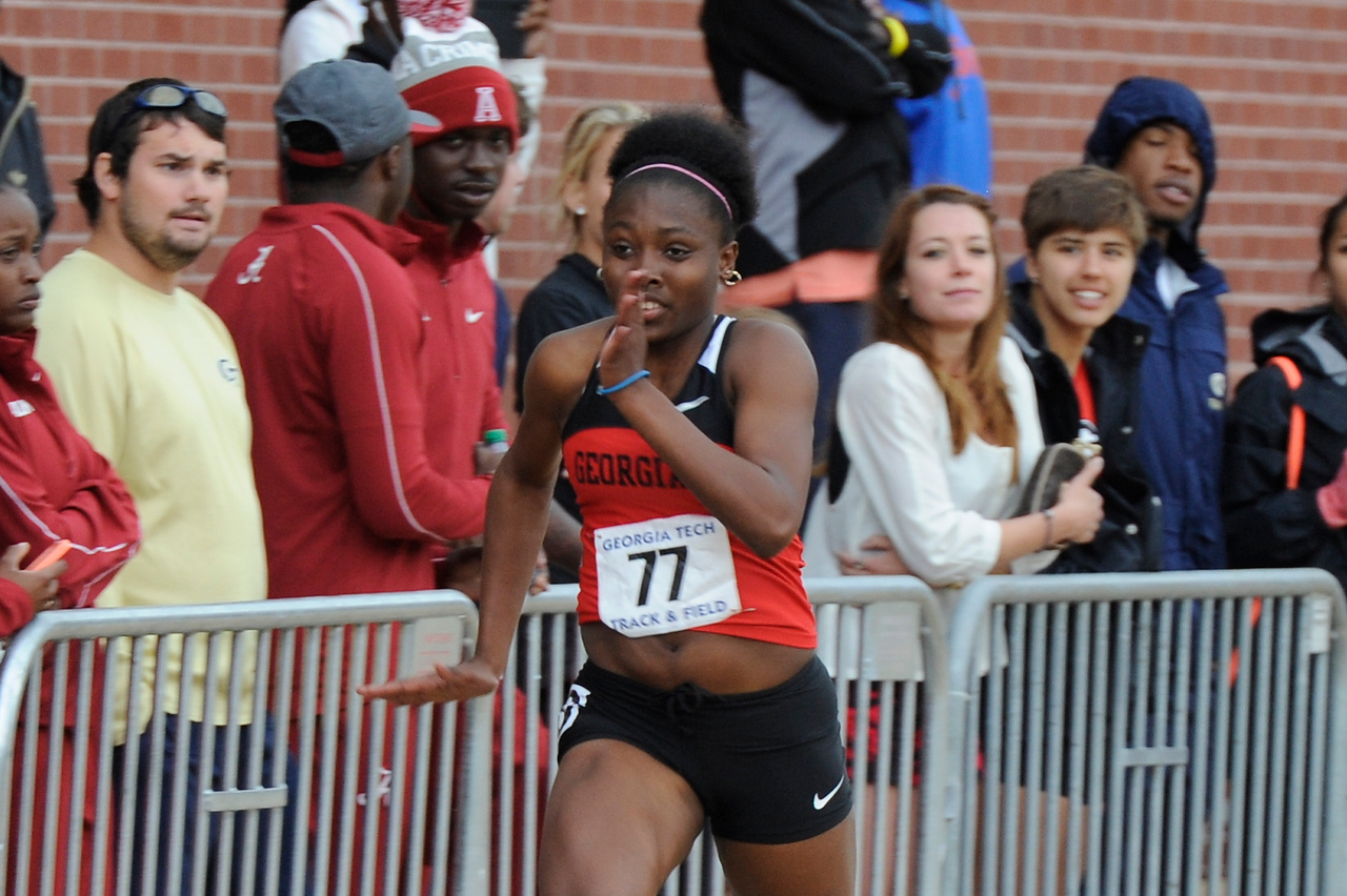 UGA track and field – Chanice Porter