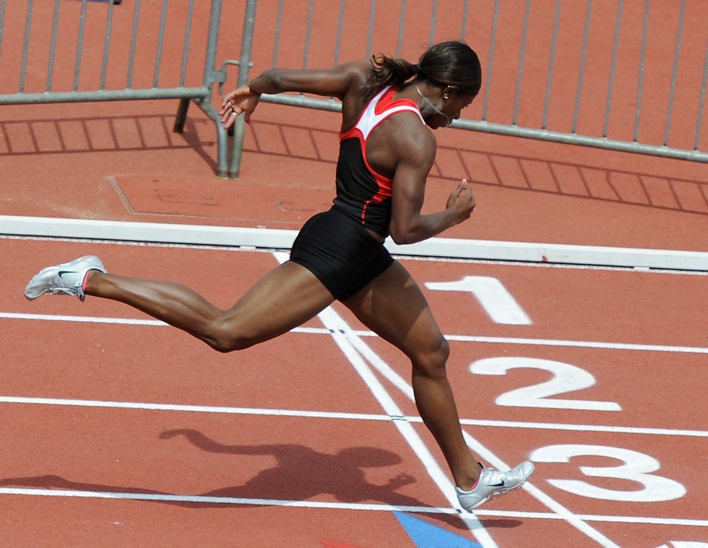 UGA track and field - queen to you Chapman