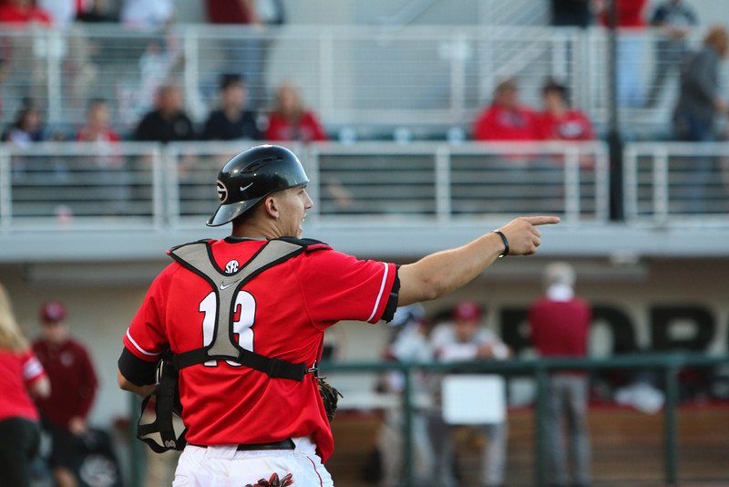 los angeles a0a1c cd5f8 UGA Catcher Michael Curry Named SEC Freshman of the Week ...