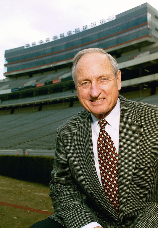 Vince Dooley (photo courtesy of the University of Georgia)