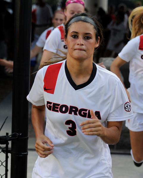 Lauren Tanner - junior - Georgia Women's Soccer team (Photo by John Kelley)