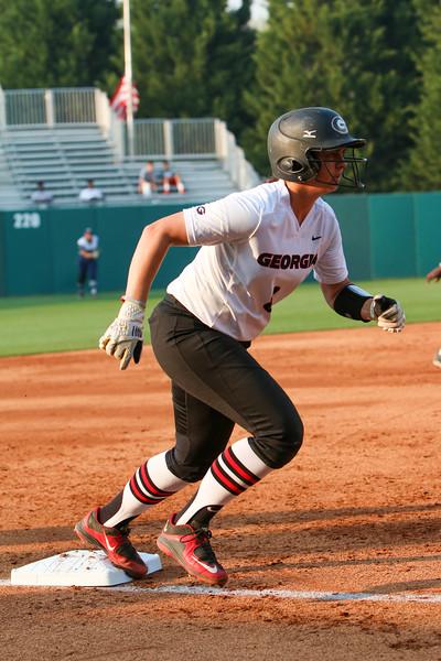 Georgia infielder Alyssa DiCarlo (8) (Photo by Emily Selby)