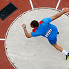 Martin Maric<br /> <br /> Croatia's Martin Maric competes in the men's discus qualification during athletics competitions at the 2012 Summer Olympics at the Olympic Stadium in London on Monday, Aug. 6, 2012. (AP Photo/Pawel Kopczynski, Pool)