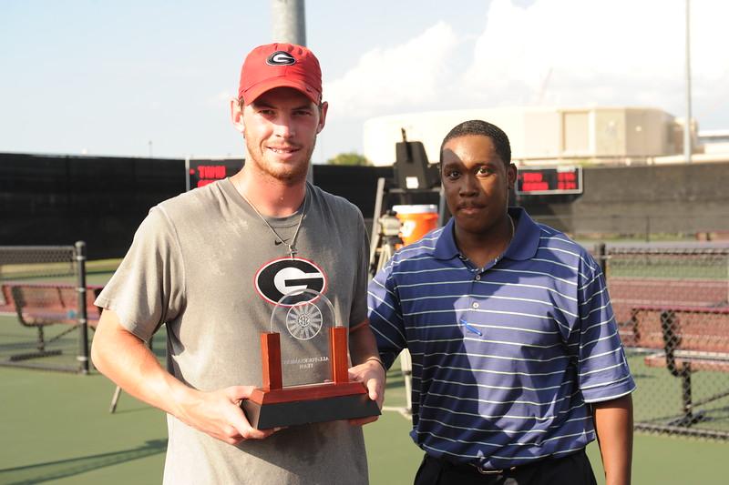 Austin Smith - UGA Men's Tennis (Photo courtesy of UGA)