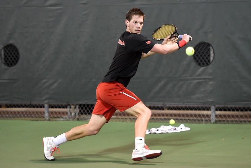 Senior Austin Smith - Georgia Men's Tennis Team  (photo courtesy of UGA)