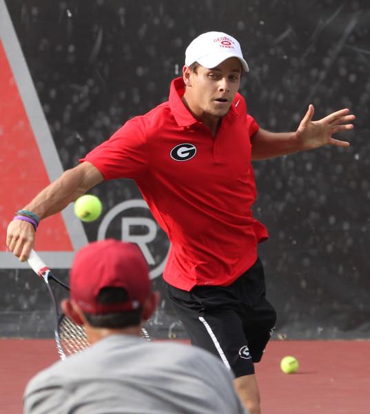 Georgia senior Wayne Montgomery - Men's Tennis team (photo courtesy of UGA)