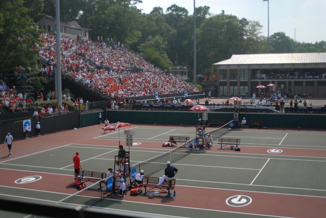 NCAA Tennis Tournament - Dan Magill Tennis Complex - UGA Photo courtesy of UGA.