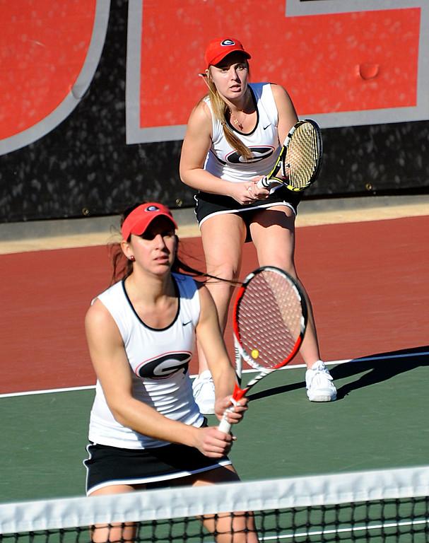 UGA women's tennis – Silvia Garcia and
